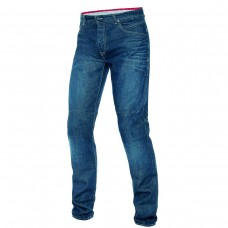 Motorbike denim ladies jeans